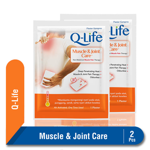 Q-Life Muscle & Joint Care Twinpack