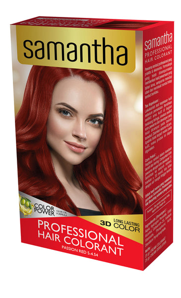 Samantha Professional Hair Colorant Passion Red 25gr