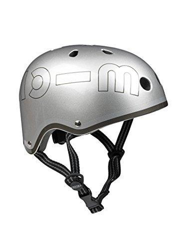 Casco Metallic Silver M
