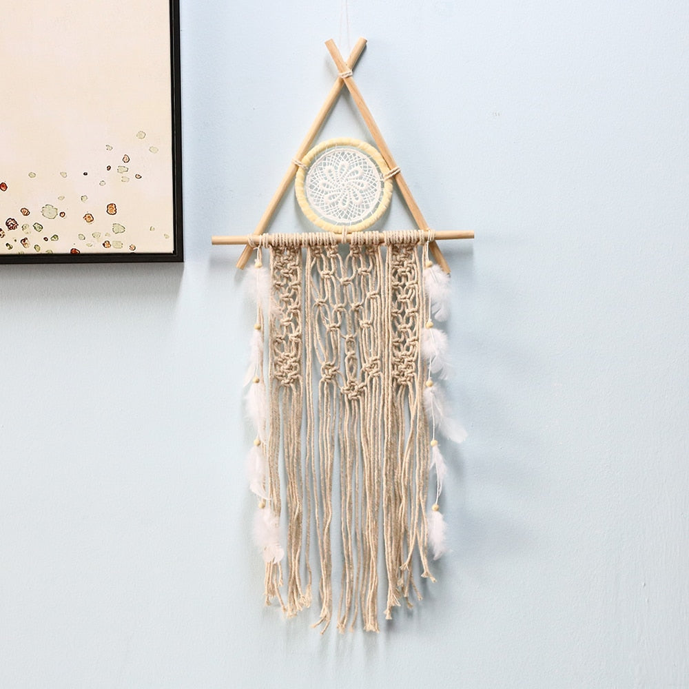 nordic dreamcatcher tapestry room decoration