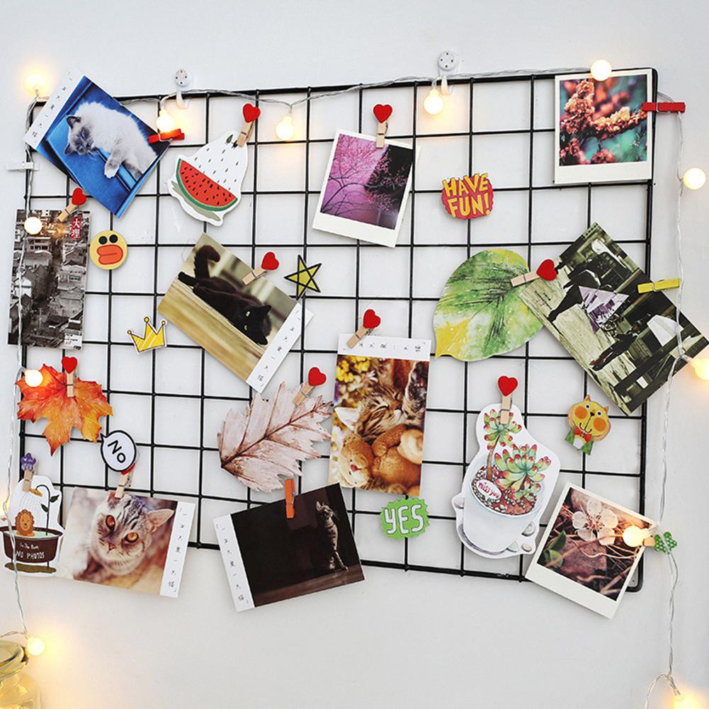 35cmx35cm Modern Home Wall Decoration Iron Grid for Bedroom