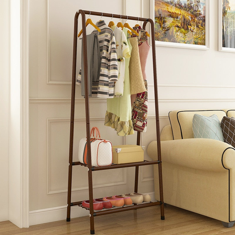 Simple Modern Coatrack + Household Shelf