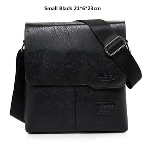 JEEP BULUO Famous Brand New Fashion Man Leather business Bag