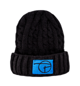 PCNY Knitted Beanie | Black