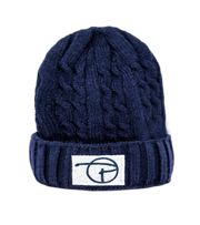PCNY Knitted Beanie | Navy
