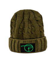 PCNY Knitted Beanie | Olive