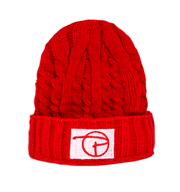 PCNY Knitted Beanie | Red