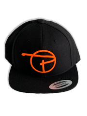 Limited Orange P Snap Back Hat