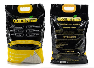 Non Scented Clumping Cat Litter 10L (Ball Shaped) - cool-kitty-cat-litter