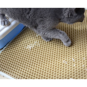 Litter Mat - cool-kitty-cat-litter