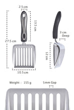 Load image into Gallery viewer, Stainless Steel Litter Scoop - cool-kitty-cat-litter
