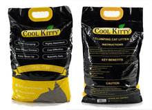 Load image into Gallery viewer, Activated Charcoal Clumping Cat Litter 10L (Ball Shaped) - cool-kitty-cat-litter