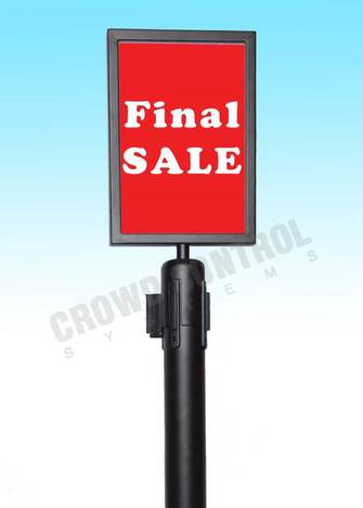 Retractable Sign Holders