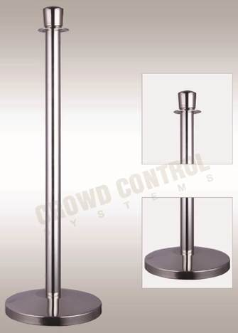 silver-bollard-crowd-control-systems