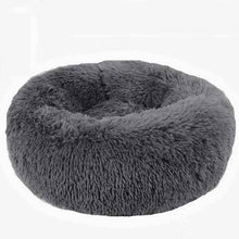 Load image into Gallery viewer, Panier Chat Round Washable Dog Bed Soft Cat House Pet Beds For Dogs House Cat Haustiere Chat Panier Long Plush Dog Kennel