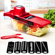 Load image into Gallery viewer, Myvit Vegetable Cutter with Steel Blade Mandoline Slicer Potato Peeler Carrot Cheese Grater vegetable slicer Kitchen Accessories