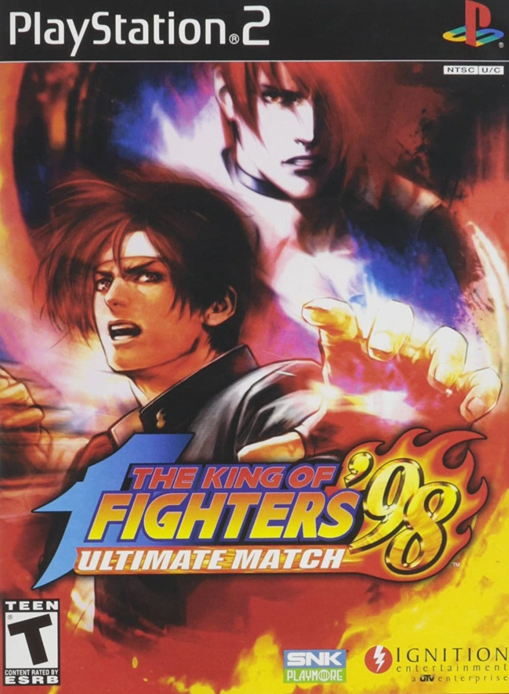PS2 The King Fighters Ultimate Match 98 T784