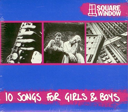 10 Songs for Girls & Boys [Audio CD] Square Window