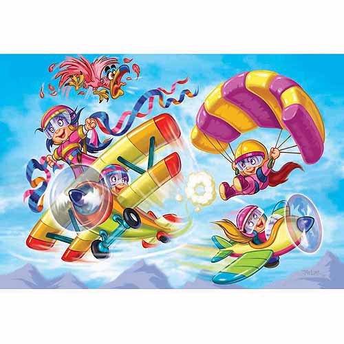PUZZLE GIRL POWER - PILOTS (100 PCS)