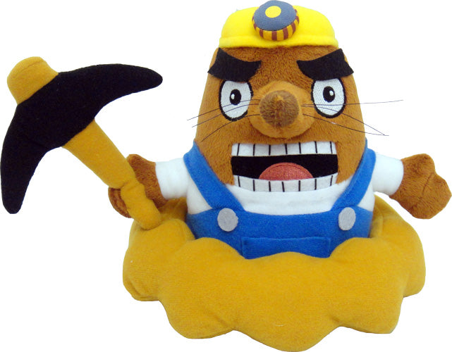 "Little Buddy Animal Crossing Mr. Resetti 7"" Plush"
