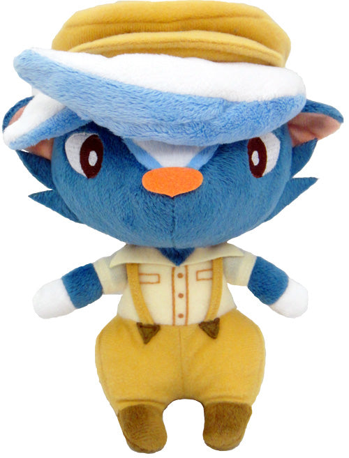 "Little Buddy Animal Crossing Kicks 7"" Plush"