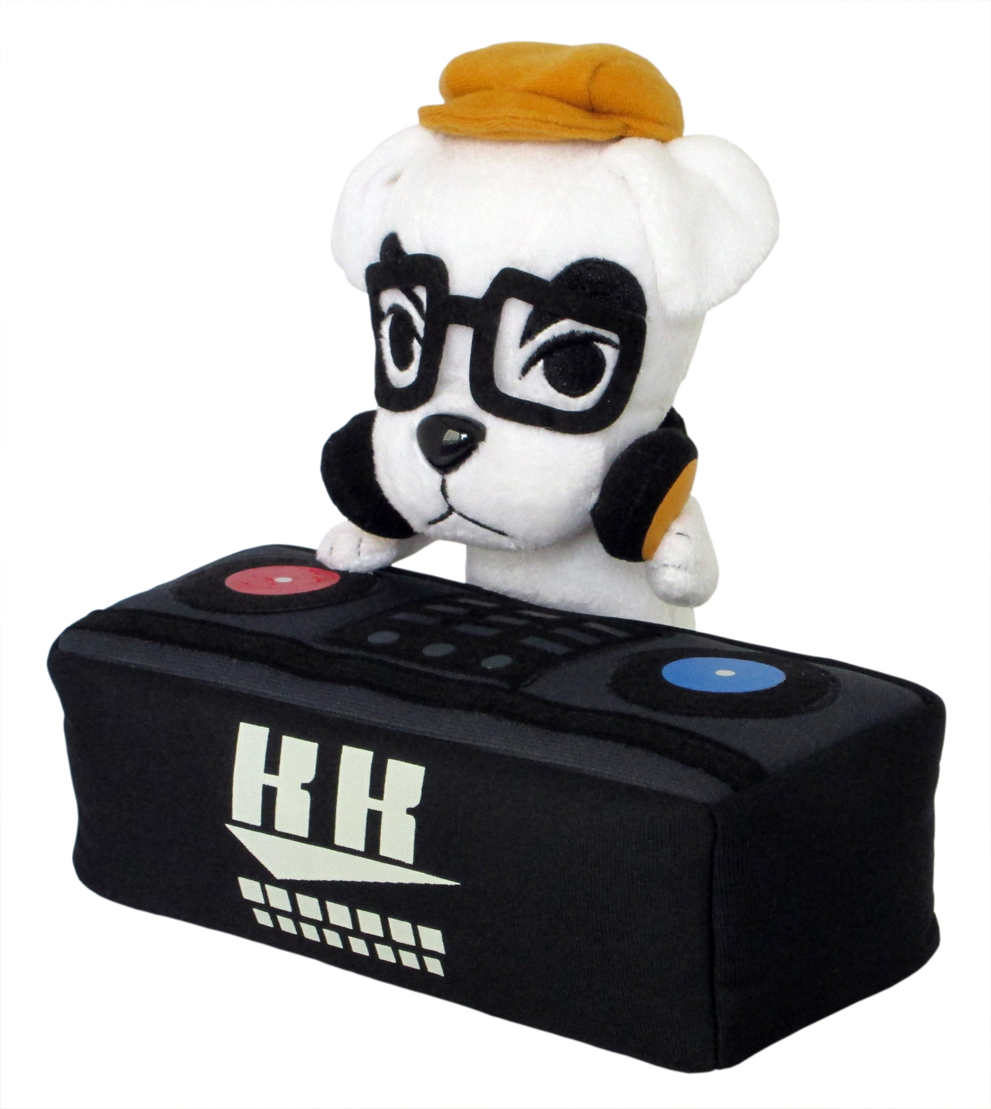 "Little Buddy Animal Crossing DJ K.K. Slider 8""Plush"