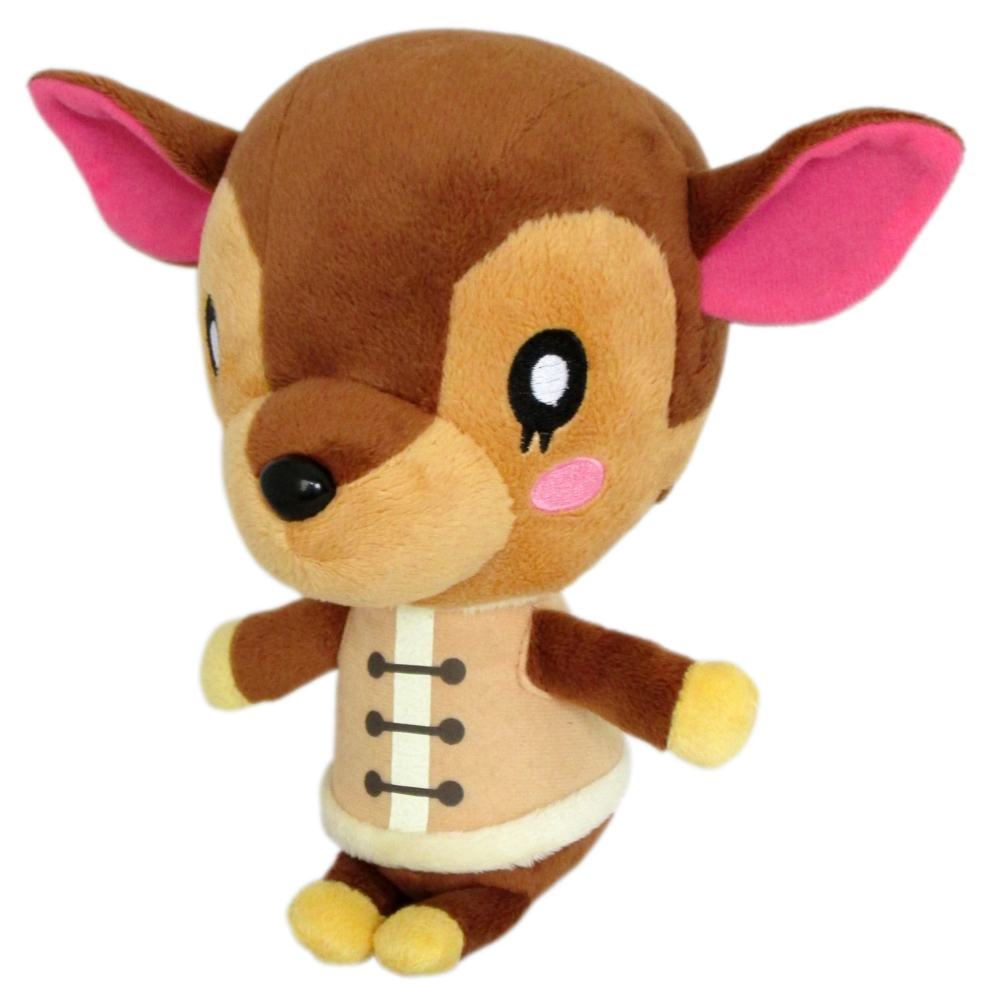 "Little Buddy Animal Crossing Fauna 7"" Plush"