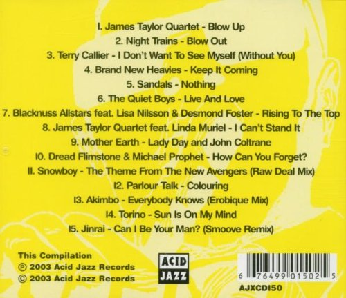 15 Years of Lost & Found Rarities: From Acid Jazz [Audio CD] 15 Years of Lost & Found Rarities-from the Acid