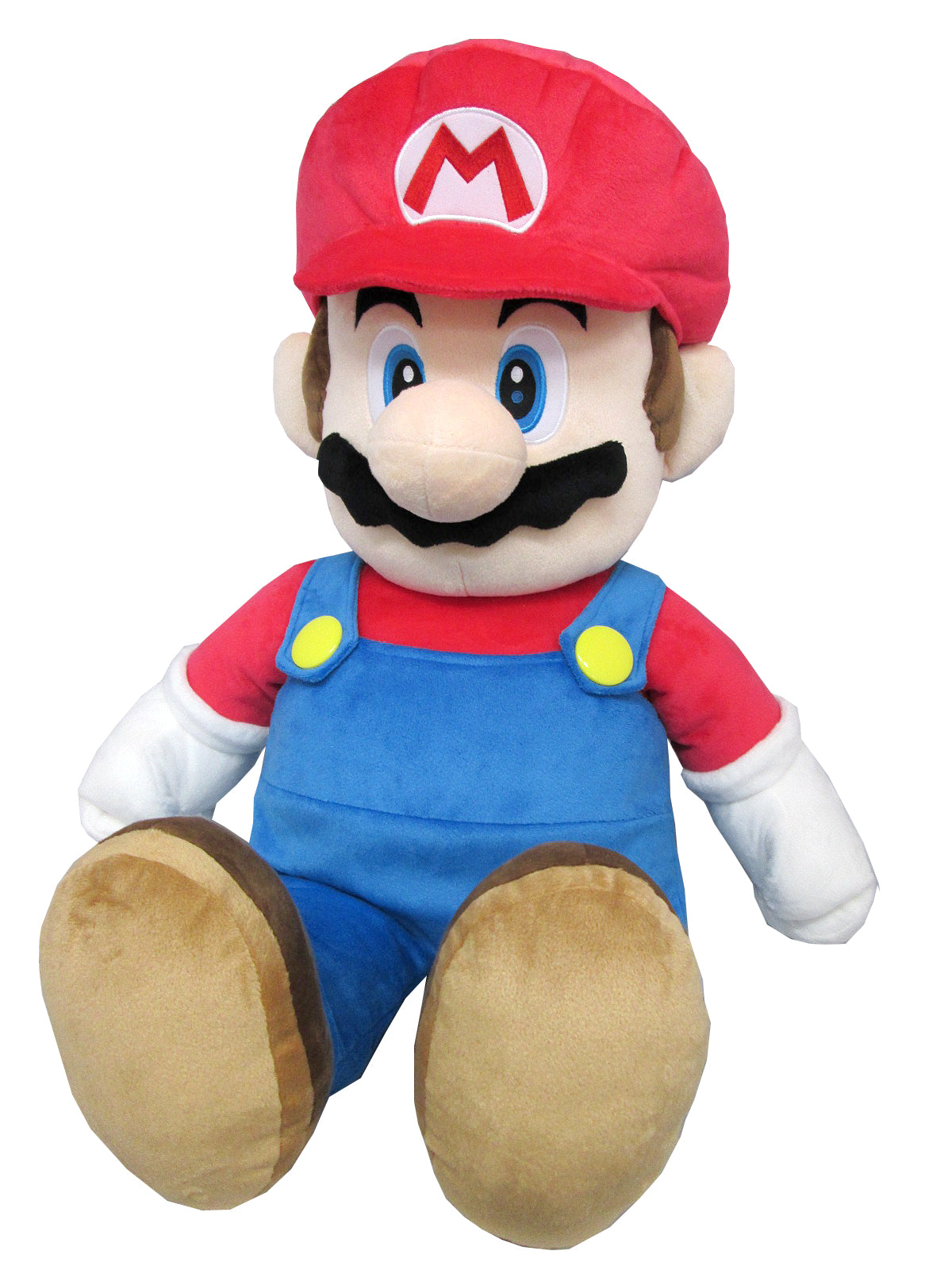 Little Buddy 1601 Super Mario All Star Collection Large Mario Plush, 24""