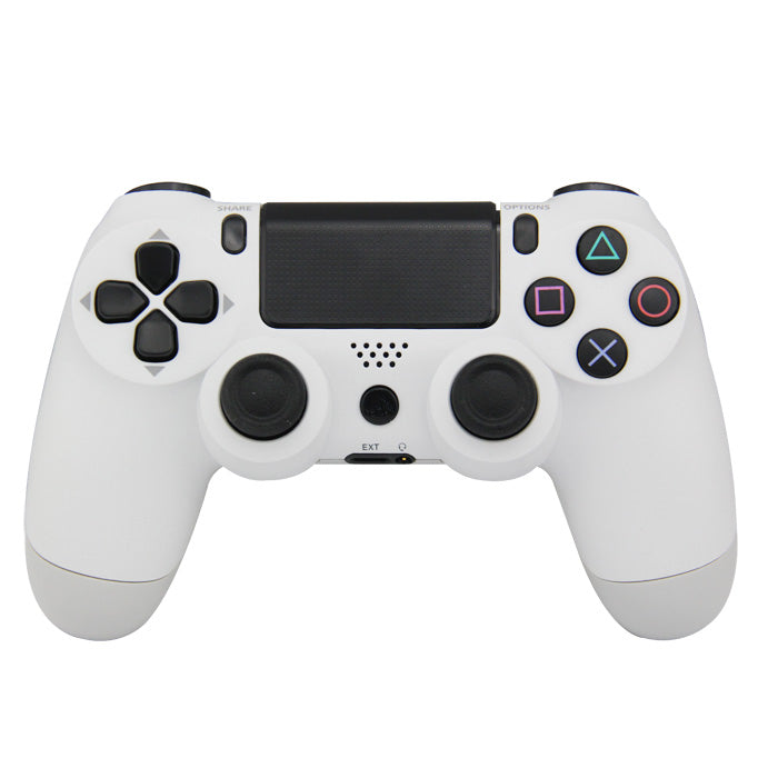 CONTROLLER PS4 WIRELESS BLUETOOTH WHITE (INCL CHARGE CABLE) (GENERIC)