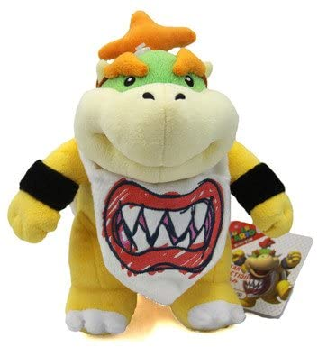 "Little Buddy Bowser Jr 9"" Plush"