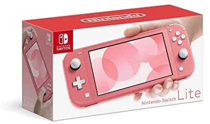 NINTENDO SWITCH LITE - CORRAL PINK