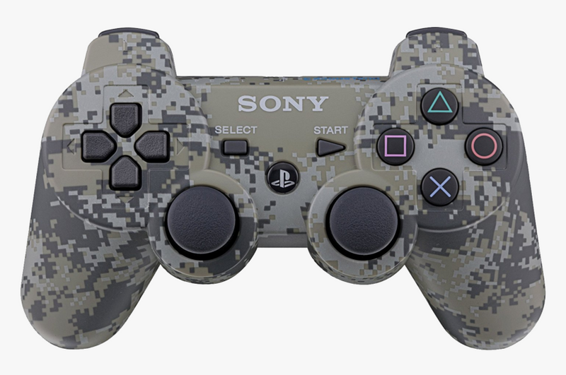 WIRELESS BLUETOOTH CONTROLLER PIXEL DIGITAL CAMO (GENERIC)