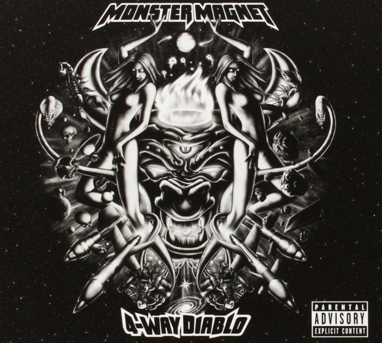 4-Way Diablo [Audio CD] MONSTER MAGNET