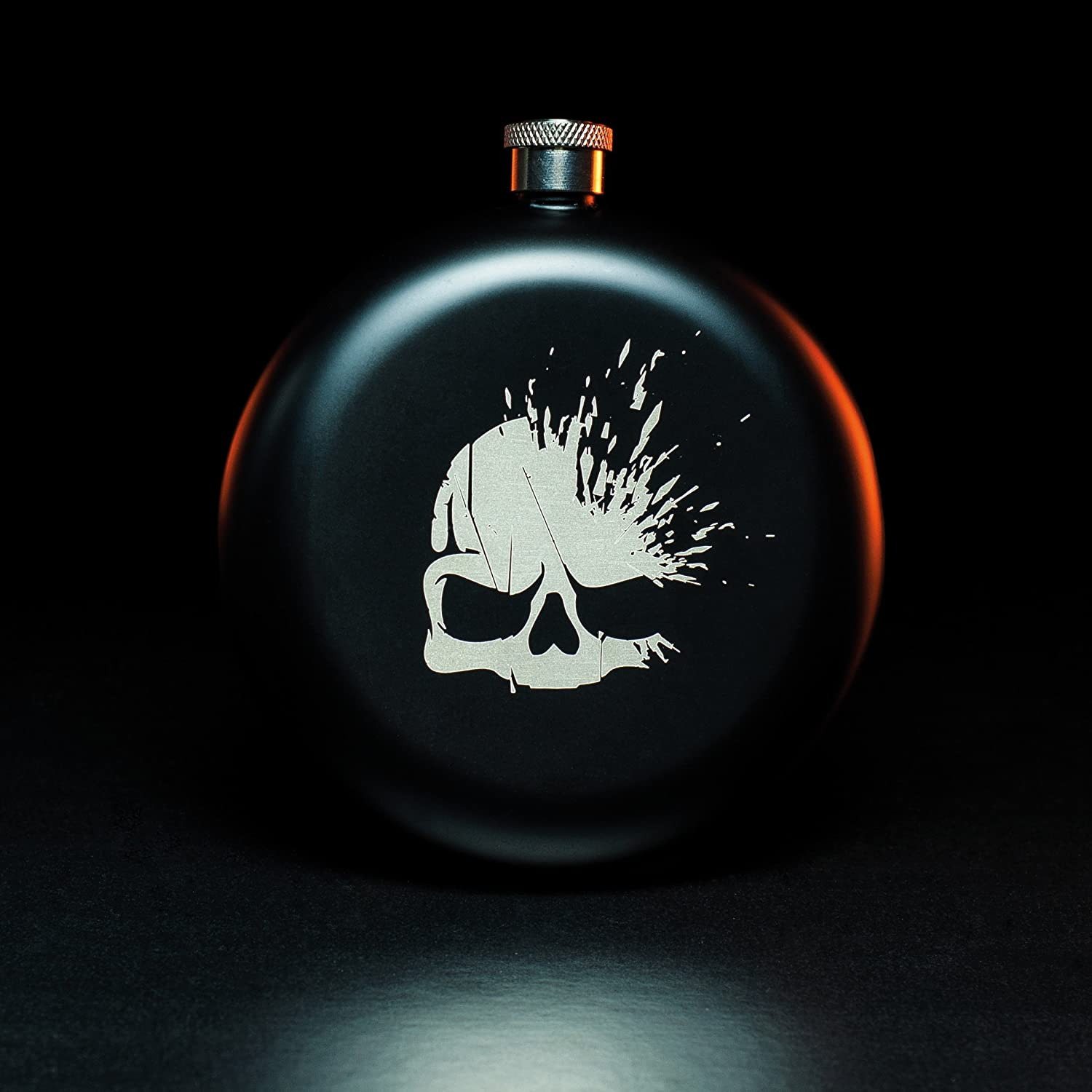 FLASK CALL OF DUTY (ROUND MILITARY STYLE)