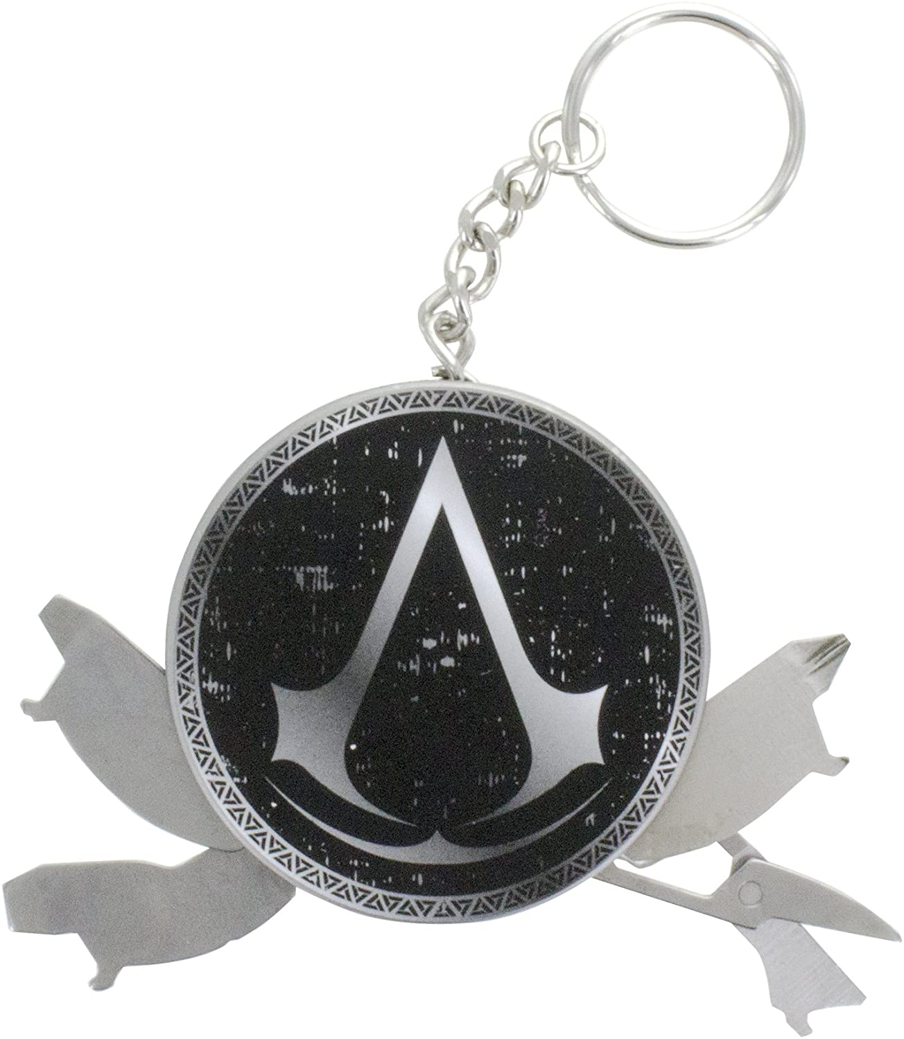 KEYCHAIN ASSASSINS CREED (4 IN 1 MULTI TOOL)