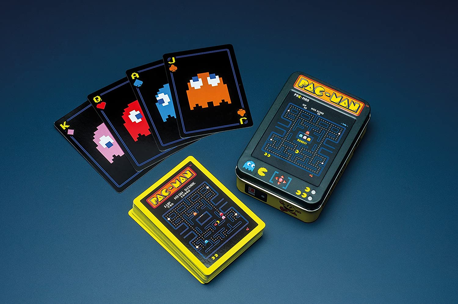PLAYING CARDS PAC MAN (IN COLLECTABLE TIN)