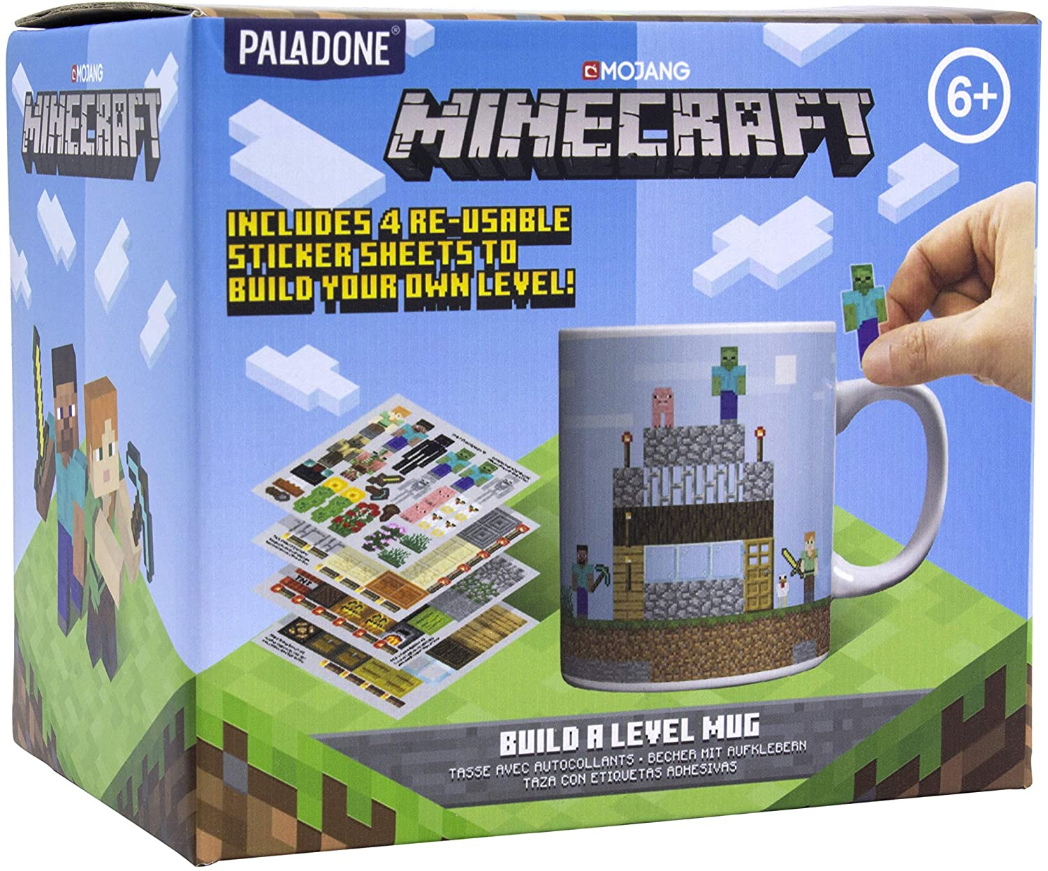 MUG MINECRAFT BUILD YOUR OWN LEVEL