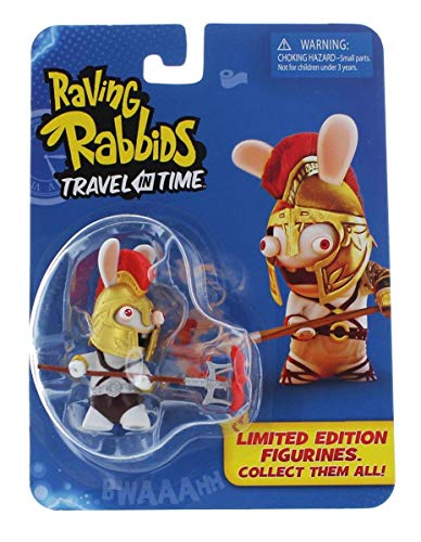 "Raving Rabbids ""Travel in Time"" Collectible Figurine - ""Gladiator"""