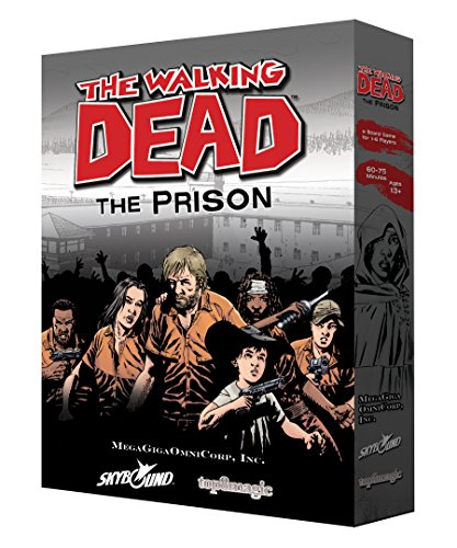 MegaGigiOmniCorp TWDP-0141 The Walking Dead The Prison Strategy Game