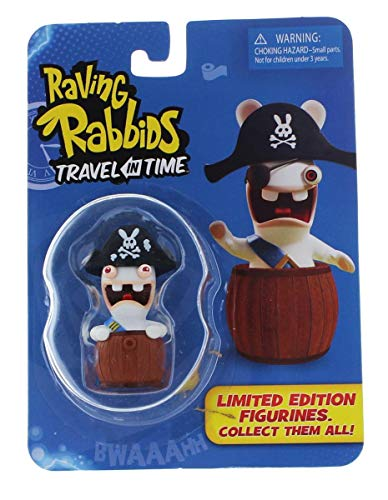 Raving Rabbids Travel in Time Collectible Figurine - Pirate