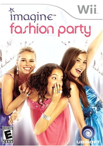 Nintendo Wii Imagine Fashion Party Video Game T874