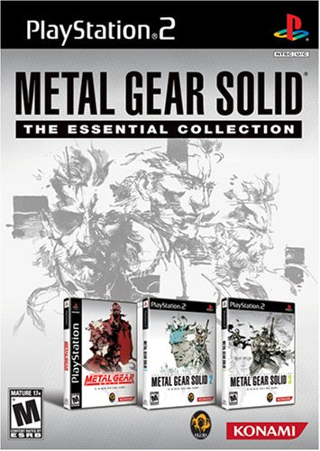 PS2 Metal Gear Solid Essential Collection Video Game T846