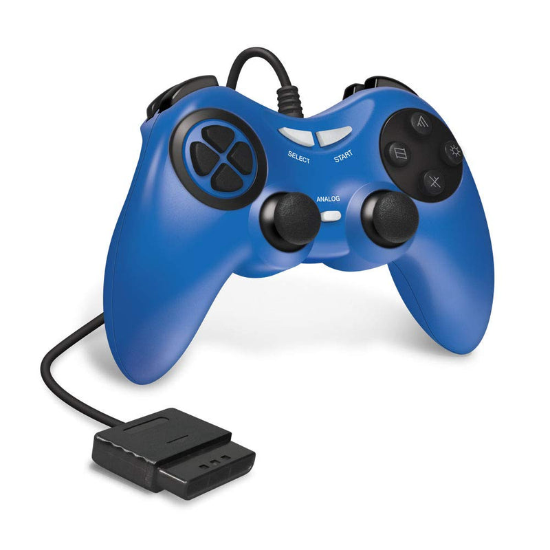 PS2 WIRED CONTROLLER (BLUE) - ARMOR3