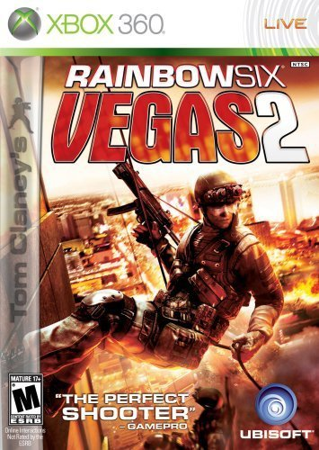 Xbox 360 Rainbow Six Vegas 2 Video Game T894