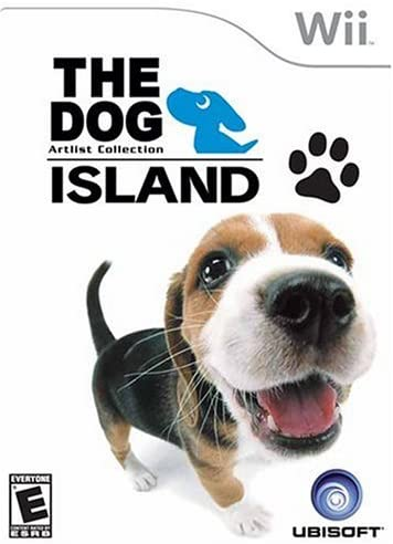 Nintendo Wii the Dog Island Artlist Collection T874