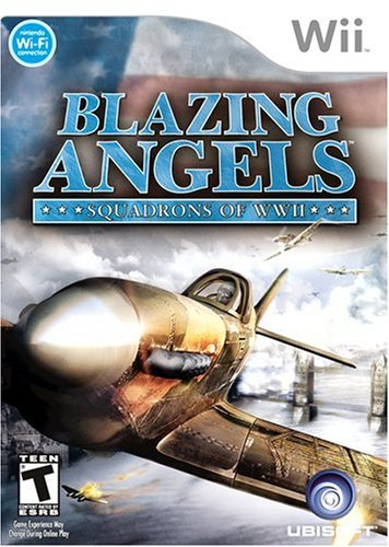 Nintendo Wii Blazing Angels Squadrons of WWII Video Game T874