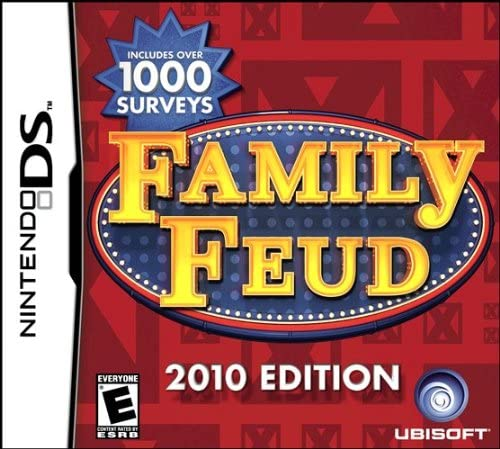 Nintendo 3DS Family Feud 2010 Edition Video Game T797