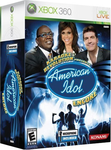 Xbox 360 Karaoke Revolution American Idol Encore with Microphone T847