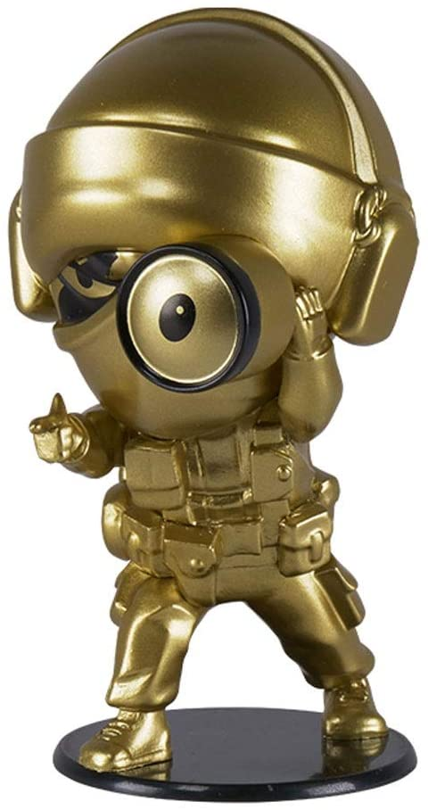 Rainbow Six Siege Collection Figurine Series 4 Gold Glaz Chibi